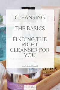 Skincare guides for Cleansing
