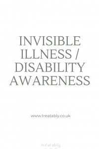Behind The Photo- A story of living with invisible illness and disability and how we as a society can do better in terms of awareness and acceptance.