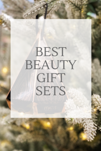 Best Beauty Gift Sets - Skincare bauble hanging on a xmas tree
