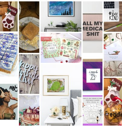 Christmas Gift Guide – Spoonie Edition – Supporting Chronic Illness Businesses