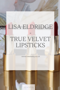 As the Nude collection launches I review and swatch the Reds true velvet lipsticks from Lisa Eldridge.
