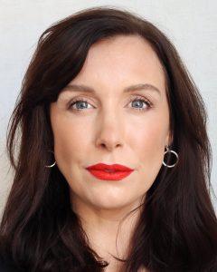 Velvet Morning by Lisa Eldridge from her True Velvet Lipstick Collection. A white female in her mid thirties wears this shade to review the lipsticks.