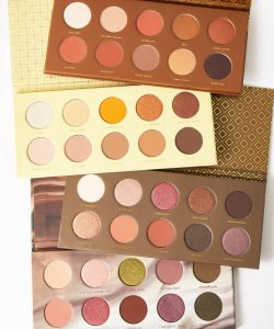 Zoeva eyeshadow - A collection of four eyeshadow palettes