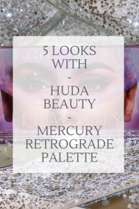 Review of the Huda Beauty Mercury Retrograde Palette