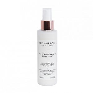 The Hair Boss shine spray vegan haircare
