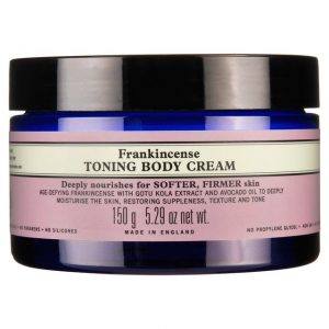 Neals Yard Frankincense Toning Body Cream vegan skincare
