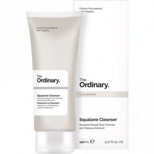 The Ordinary Squalene Cleanser cruelty free beauty