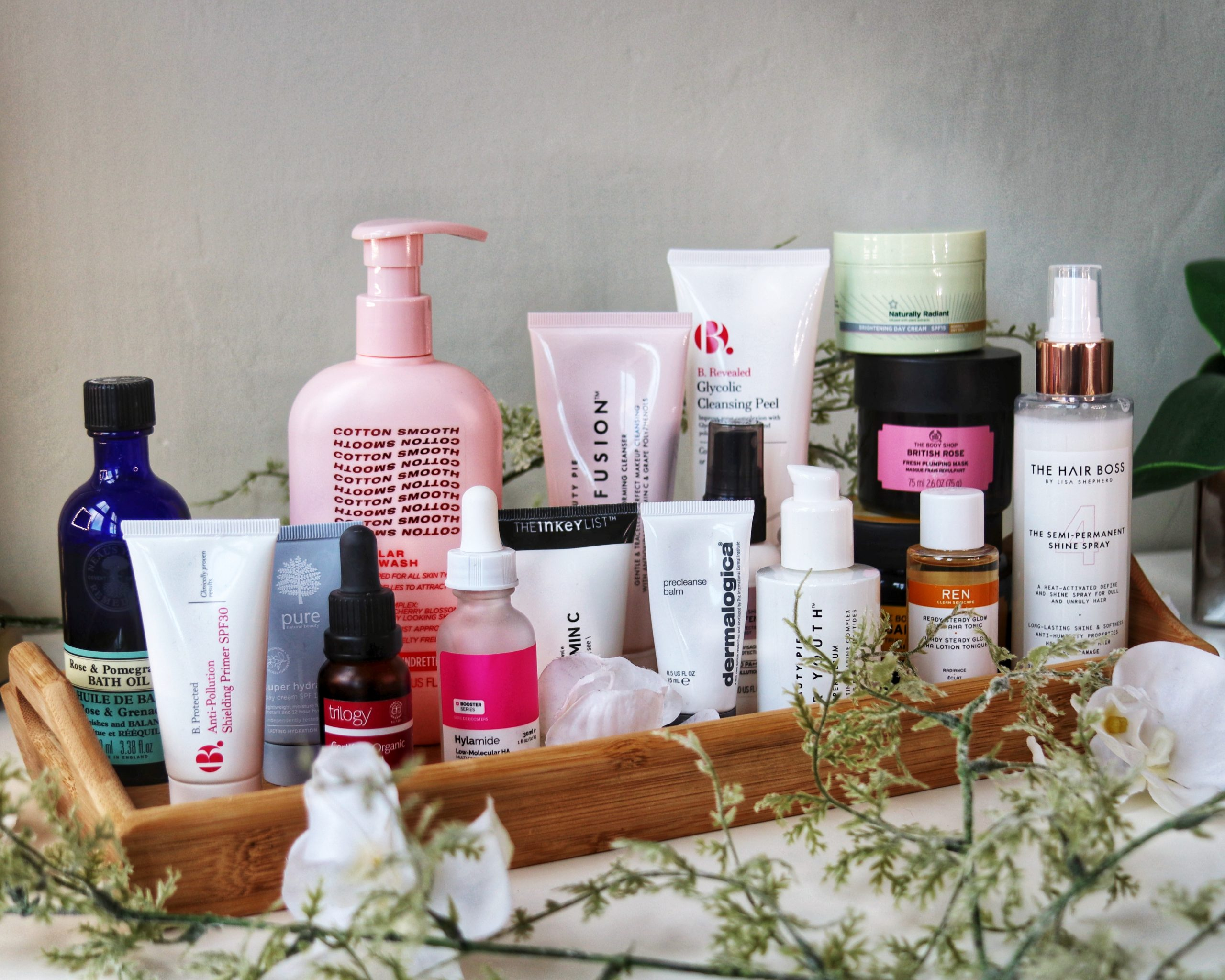 Vegan skincare a mix of skincare products collected to review new and cult vegan friendly beauty.