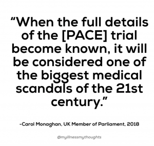 """""""When the full details of the PACE trial become known, it will be considered one of the biggest medical scandals of the 21st century."""""""