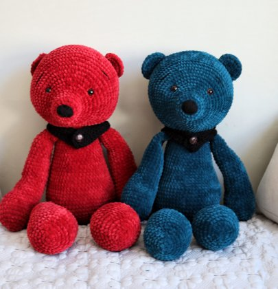 Giant Crochet Teddy Bears