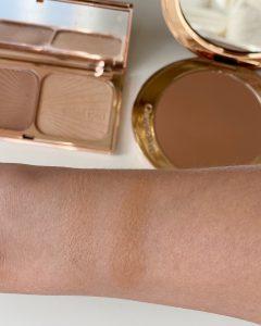 Charlotte Tilbury Filmstar bronze and glow vs airbrush bronzer
