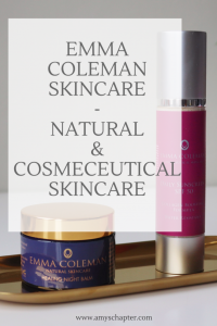 Emma Coleman Skincare review! Natural and cosmeceutical skincare ranges from a London based dermatologist!