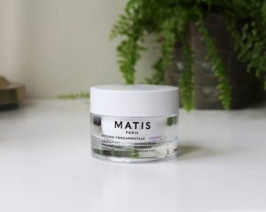 Matis Paris Parisian Escapes Harvest In Montmarte skincare gift set - The cream sits on a white table