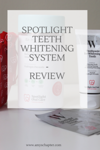 Spotlight Teeth Whitening system review!