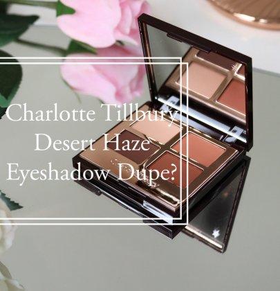Charlotte Tilbury Dupe – Desert Haze Palette