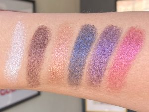 XX Revolution Chameleon Eyeshadow Palette swatches