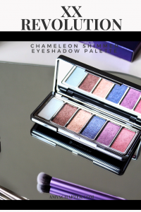 XX Revolution Chameleon Eyeshadow Palette review! From Beauty Revolution comes this limited edition shimmer eyeshadow palette that is vegan friendly and cruelty free makeup!