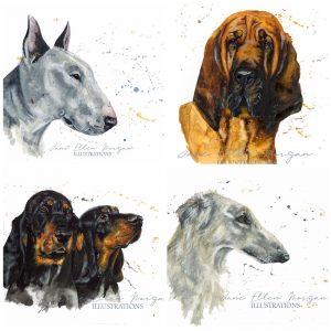 pet illustrations gift