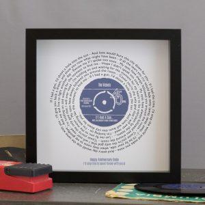 xmas gift ideas vinyl personalised