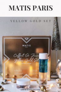Matis Paris Yellow Gold Set - Perfect Skincare Gifts For Christmas