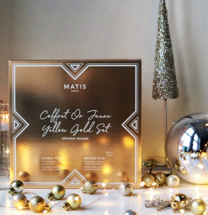 Matis Paris Yellow Gold Set – Christmas Skincare