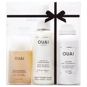 beauty xmas gift ideas - Ouai hair set