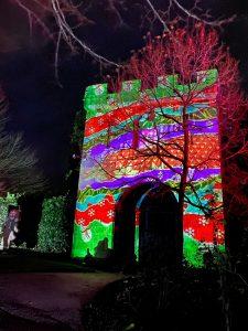 The Alnwick Garden Christmas Light Trail