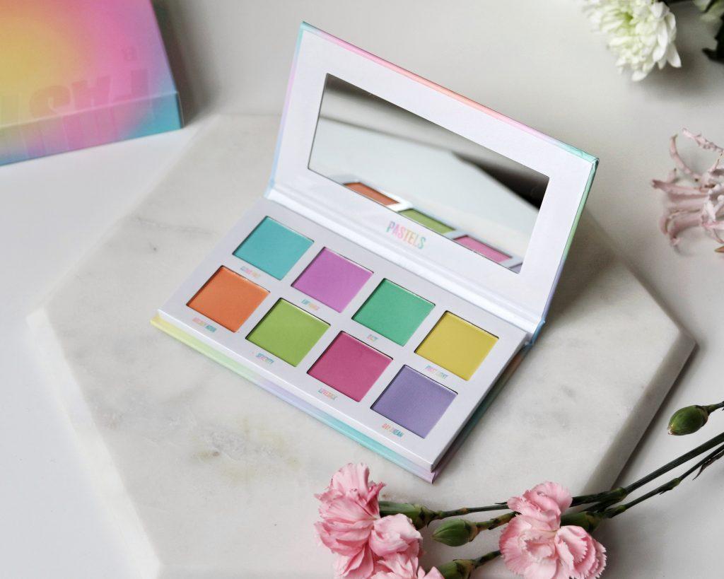 Beauty Bay pastel eyeshadow palette vegan makeup