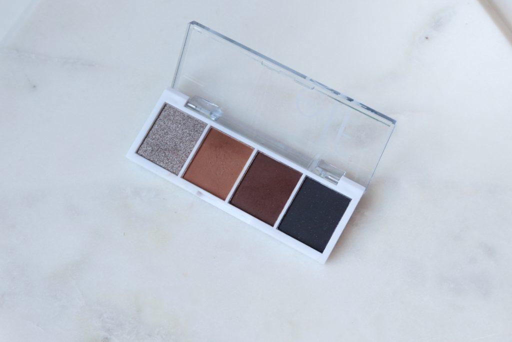 Elf bitesize eyeshadow palette in truffles vegan makeup cruelty free