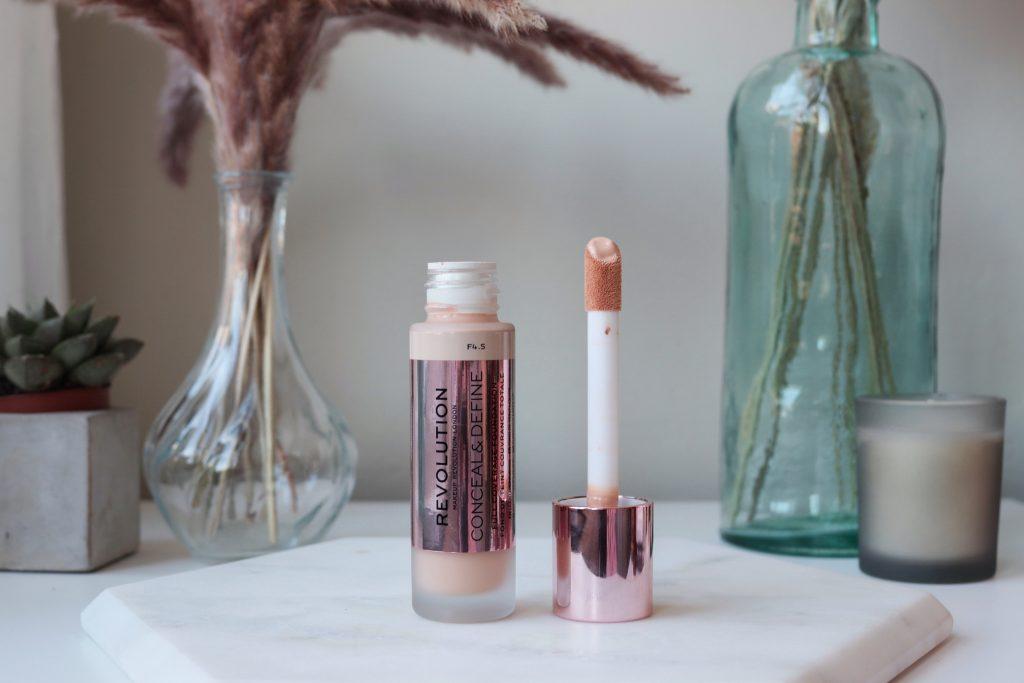 Makeup Revolution Conceal and Define Foundation vegan makeup