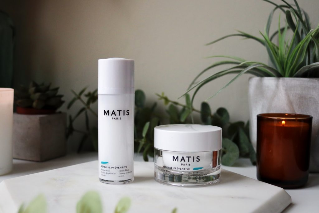 Matis Paris romantic garden skincare set Hydra Mood Serum and City Mood Face cream