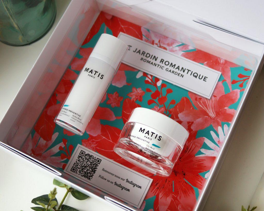 Matis Paris romantic garden skincare set