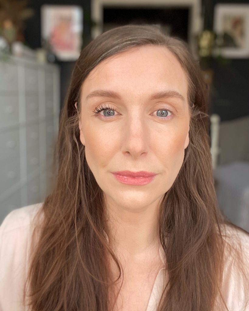 Amy demo's one coat of this drugstore mascara