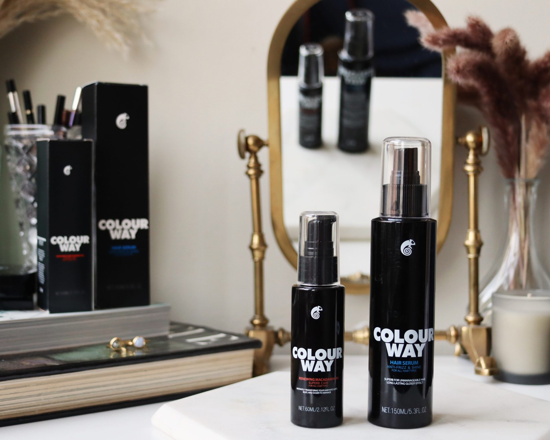 Colourway Haircare hair styling