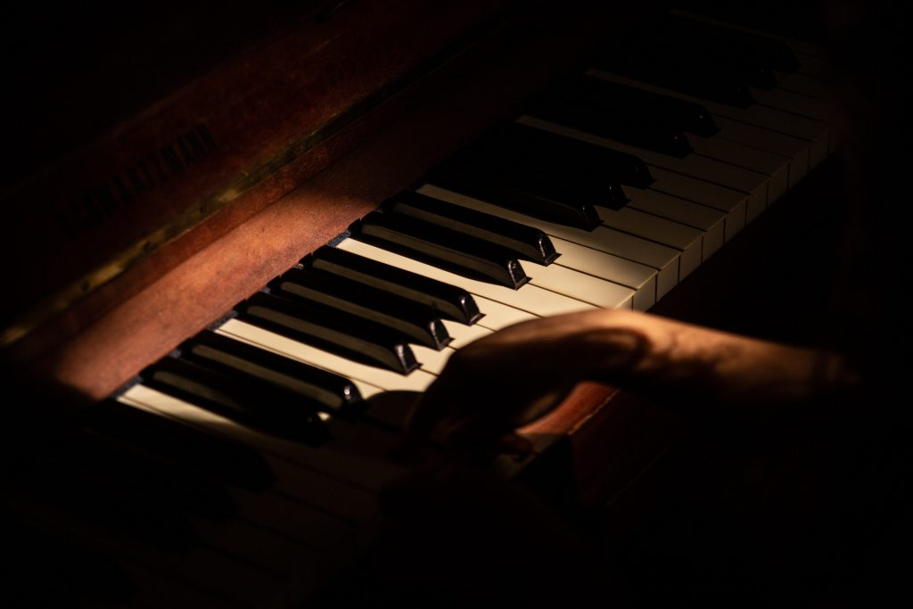 Piano playing hobby