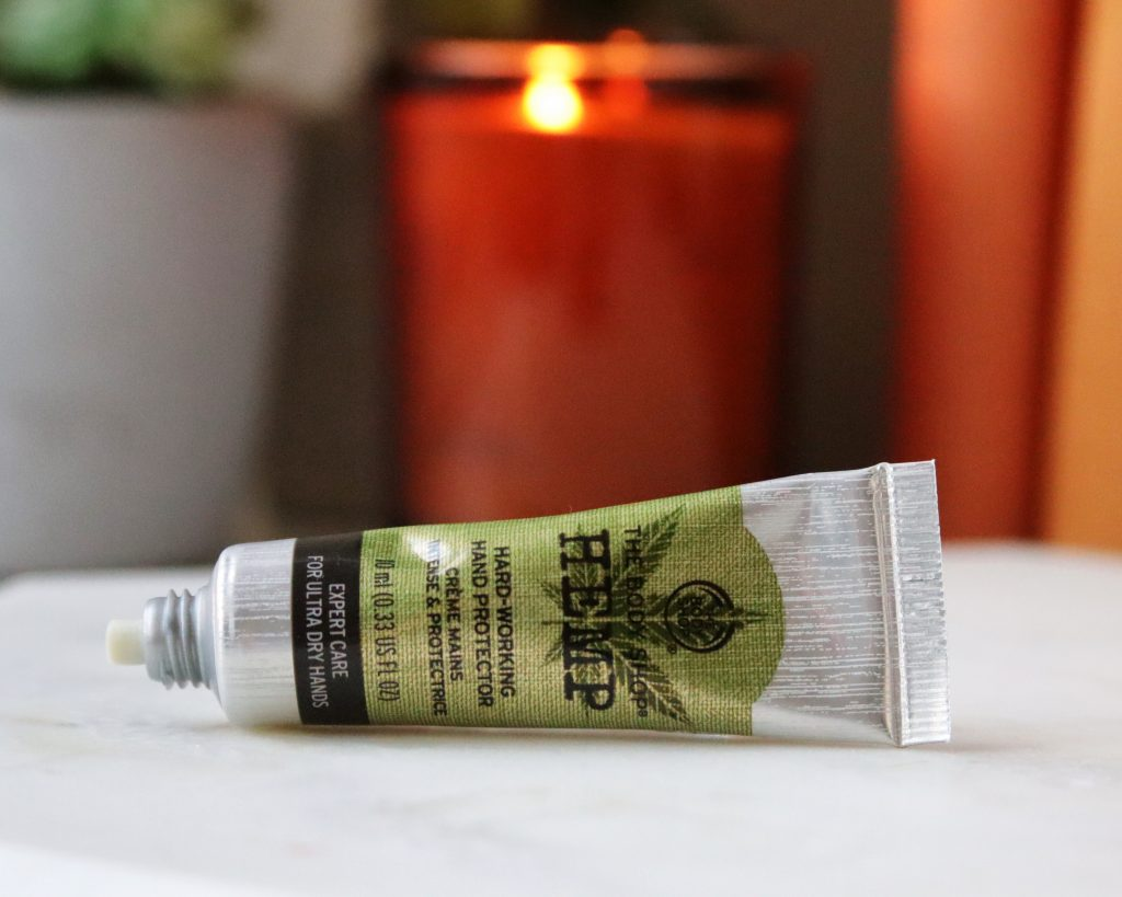 The Body Shop Hemp Hand Cream cruelty free vegan skincare