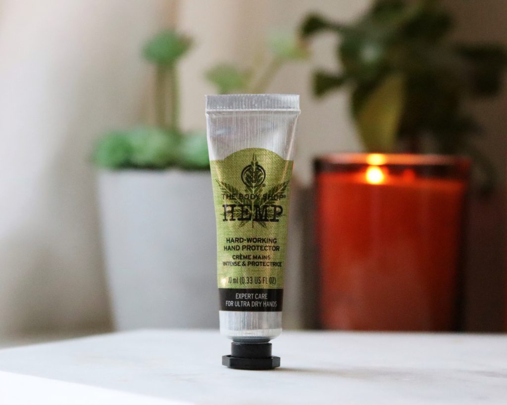 The Body Shop Hemp Hand Cream cruelty free skincare