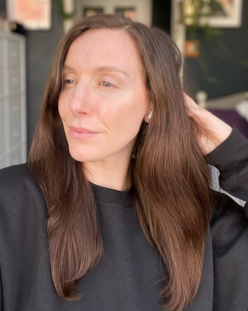 loreal 8 second wonder water results hair blown dried north east beauty blogger