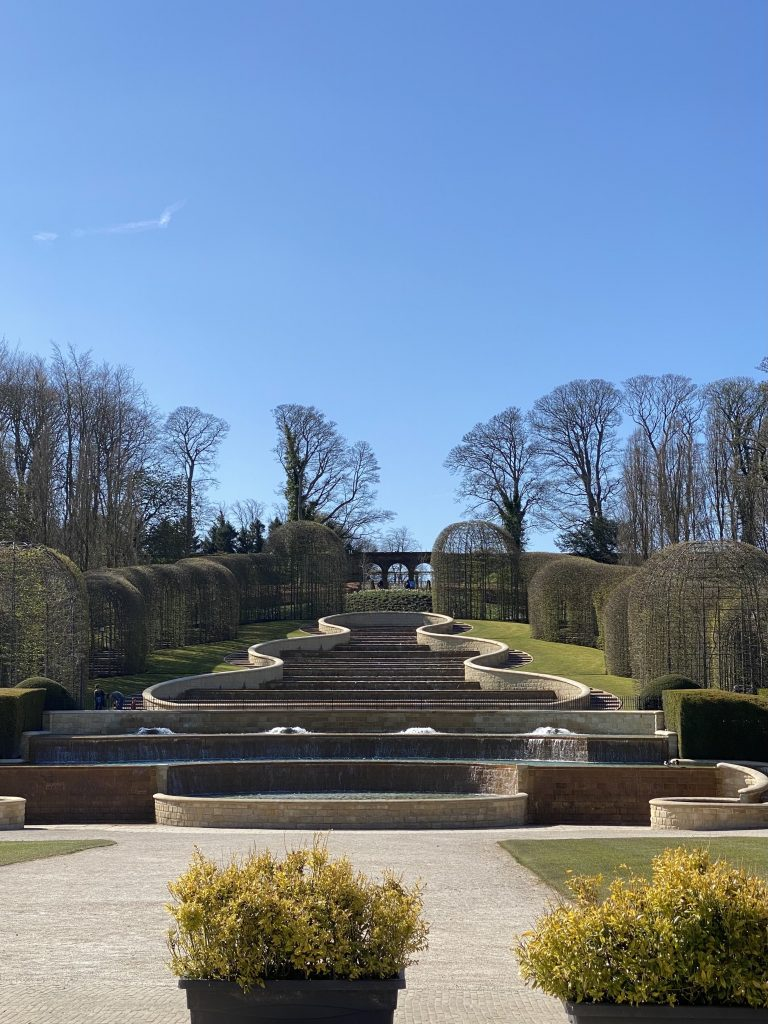 The fountain at The Alnwick Garden