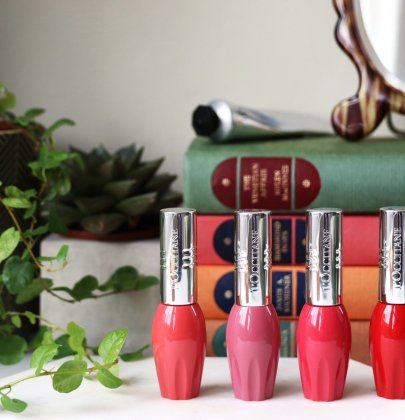 L'occitane Pressed Fruity Lipsticks