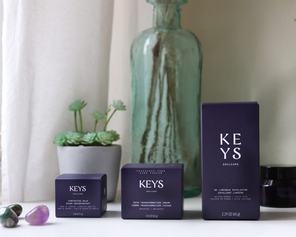 Keys Soulcare skincare review the packaging
