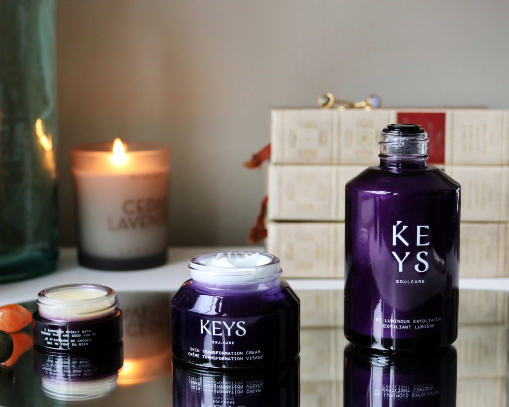 Keys Soulcare Clean Skincare Skin Transformation Cream Exfoliator and Comforting Balm review