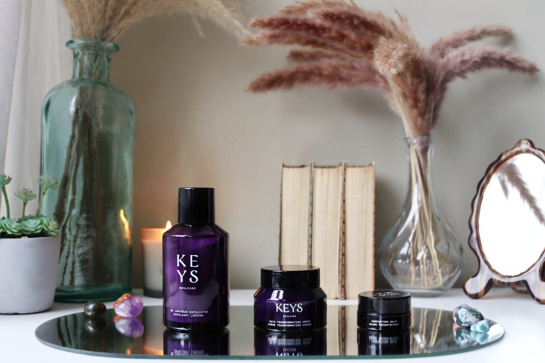 Keys Soulcare Clean Skincare Be Luminous Exfoliator, Skin Transformation Skin, Comforting Balm