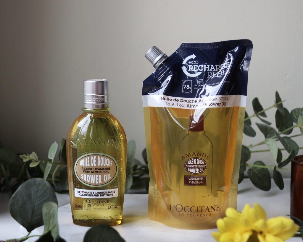 L'occitane Almond Shower Oil Eco Refill
