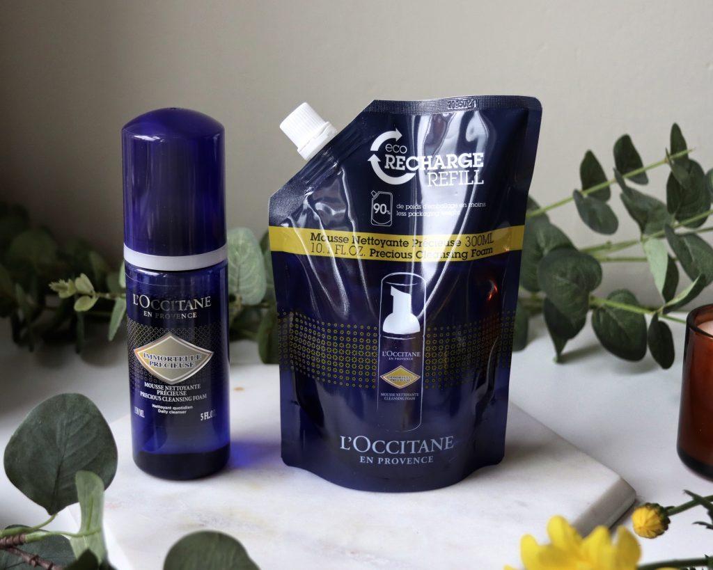 L'occitane Precious Cleansing Foam Eco Refill skincare