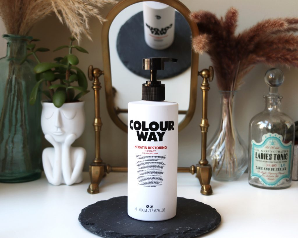 Colourway Keratin Restoring Therapy Hair Mask haircare review