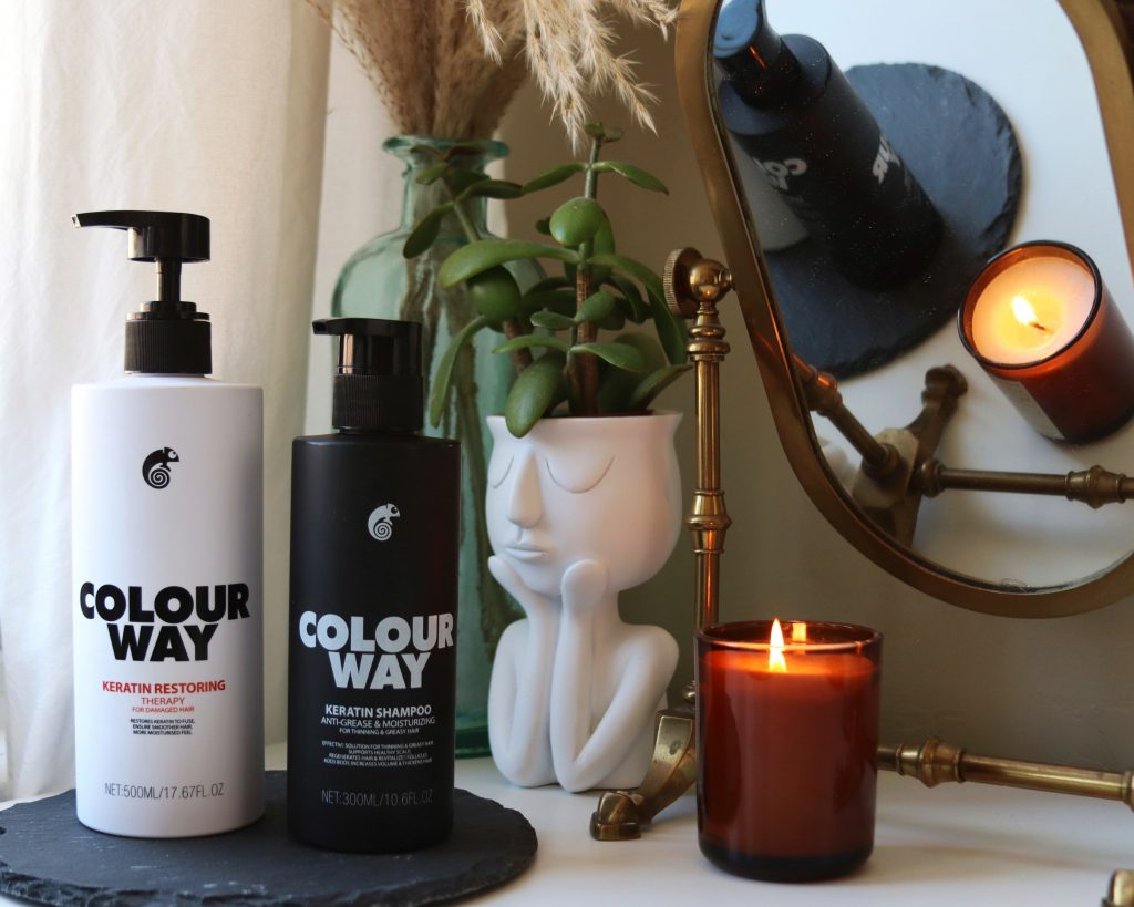 Colourway Keratin Restoring Therapy Hair Mask & Keratin Shampoo haircare
